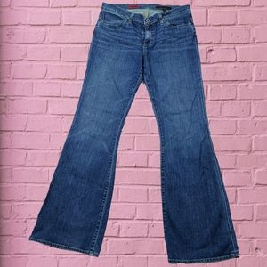 AG low rose flare jeans
